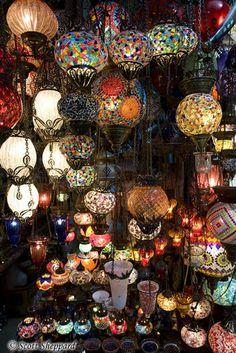 Lights in the Grand Bazaar by VTShep1
