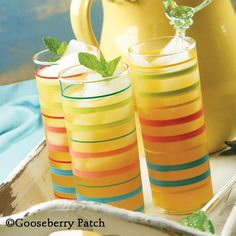 Gooseberry Patch Recipes: Refreshing  Summertime Iced Tea - you'll love the tea/lemonade combination. From 101 Easy Entertaining Recipes Cookbook