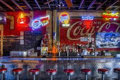 The famous Bluelight Live in Lubbock, Texas! Located at 1808 Buddy Holly Ave! **THE BEST bar in Texas**