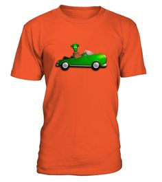 # Halloween- Frankenstein drives a car .  Frankly My Dear, Funny Halloween Party Shirt! We've all had that moment when that person that was made just for us gets on our last nerve and we just have to let them know about it! Funny shirt featuring Frankenstein's Monster and his Bride. Shirts tend to run tight, for a looser fit, please order a shirt one size up. This is a great costume shirt for the night of October 31st for trick-or-treating, ghost hunting, or for a haunted house. Perfect if…