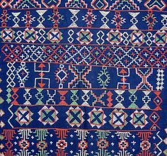 ethnic textiles embroidery motifs | Detail 2 (back)