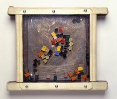 Paul Neagu 'Palpable Object (Mosaic)', 1970 Wood, leather, metal, plastic and glass Tate Gallery, Art Terms, Creative Play, Sketchbooks, Three Dimensional, Art Images, Art History, Mosaic, Workshop