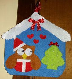 Fuori porta gufetto natalizio , by francycreations non solo idee regalo, 8,00 € su misshobby.com