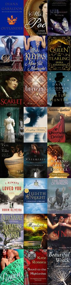 23 Books to Read If You Love Outlander. Be checking some of these out for sure just have to finish 7 more books in outlander series. I Love Books, Great Books, Books To Read, Big Books, Historical Romance Books, Romance Novels, Historical Fiction, Up Book, Book Nerd