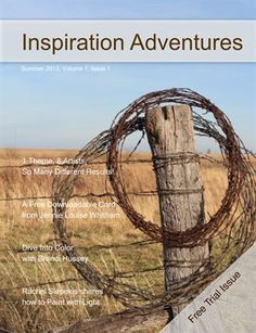 Inspiration Adventures Summer 2013. Digital version is free. Print version is $13.80 from HP MagCloud