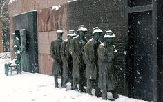 The bread line FDR Memorial