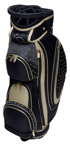 Gold Rush Greg Norman Ladies Golf Cart Bag - find the best golf bags at #lorisgolfshoppe