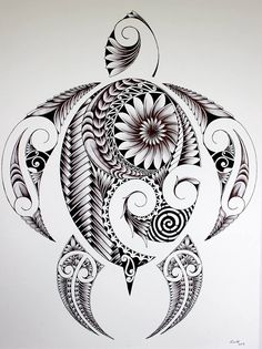 Nice turtle drawing
