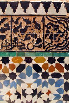 Umberto Pasti in Tangier, photo by Ngoc Minh Ngo for T magazine Islamic Patterns, Geometric Patterns, Morrocan Patterns, Mediterranean Tile, Mosaic Tiles, Mosaics, T Magazine, House Tiles, Tangier