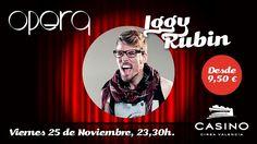 Iggy Rubín, diversión asegurada en Casino Cirsa Valencia - http://www.valenciablog.com/iggy-rubin-diversion-asegurada-en-casino-cirsa-valencia/