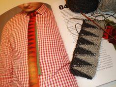 strikket slips begyndelse