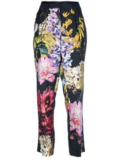 Roberto Cavalli - floral print trouser