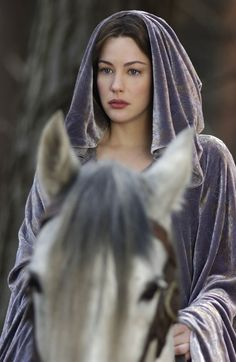 Just look at that cloak! Soft Summer, dull? Never.  (I don't know if Liv Tyler's a SSu or not, but she does look incredible here)