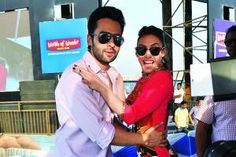 Jackky Bhagnani and Lauren Gottlieb visit Worlds of Wonder in Noida - Times of India Local Events, Times Of India, Mens Sunglasses, Dance, Park, News, World, Water, Style