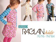 "eBOOK # 73 ""RAGLAN.kids"" 50/56 bis 158/164"