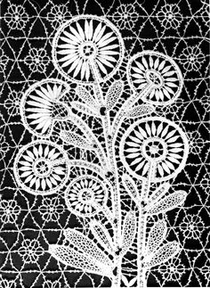 елец Bobbin Lace, Cards, Image, Macrame, Needlepoint, Lace, Trapper Keeper, Romania, Florals