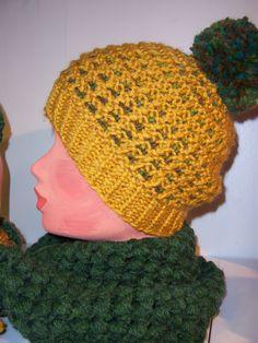 Mütze gestrickt, Loopschal gehäkelt Design: Gerlinde Gebert Shop: www.gebert-handarbeiten.de