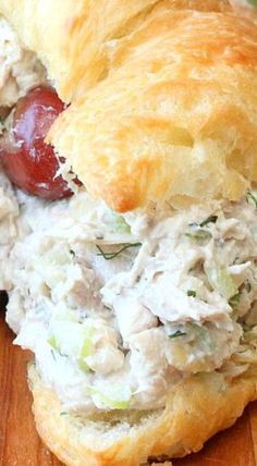 Best-Ever Chicken Salad ~ Incredible! Use rotisserie chicken for a total fuss free no cook option. Best-Ever Chicken Salad ~ Incredible! Use rotisserie chicken for a total fuss free no cook option. Salat Sandwich, Soup And Sandwich, Turkey Salad Sandwich, Sandwich Ideas, Sandwich Recipes, Great Recipes, Dinner Recipes, Favorite Recipes, Popular Recipes