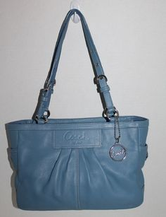Coach Pleated Gallary East West Shopper Tote 13759. Starting at $40 on Tophatter.com!