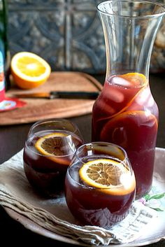 Red wine + Italian soda + Citrus  - Collecting up my prior pins here for re-casting on new boards.
