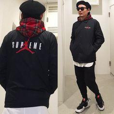 #コーデ#コーディネート#ootd#outfit#fashion#ファッション#snap#スナップ#supremejordan#jordan#シュプリーム#supreme#supremenyc#supremejp#コムデギャルソン#commedesgarcons#アクロニウム#acronym by jp29l