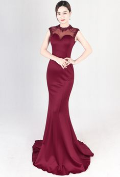 4343d2f4608 8169  annual event Evening Dresses Fashionable mermaid banquet slim looking  quiz master formal dress female