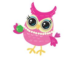 Owl Clip Art #40