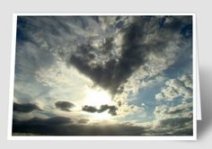 Ana's sky photos are like Rorschach tests. Everyone sees something different.