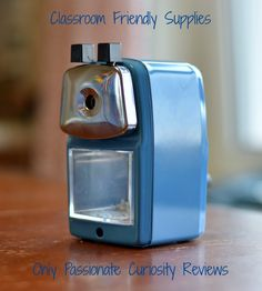 Classroom Friendly Supplies: Reliable Pencil Sharpener Review