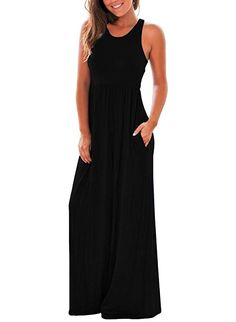 online shopping for Dearlovers Women Racerback Sleeveless Casual Long Maxi Dress from top store. See new offer for Dearlovers Women Racerback Sleeveless Casual Long Maxi Dress Summer Dresses For Teens, Casual Summer Dresses, Dress Casual, Racerback Maxi Dress, Tank Dress, Casual Winter, Dress Brands, Dresses With Sleeves, Maxi Dresses