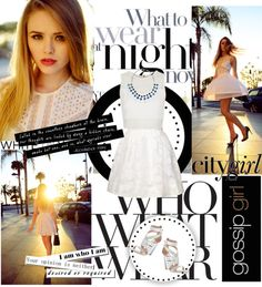 """""""White on White"""" by nastya-d ❤ liked on Polyvore"""