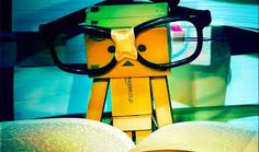 #justreading #boxman #cute #thoseglasses #harrypottertape