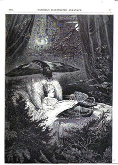 Just a little dar and eerie... From 1871 Cassell's Illustrated Almanac, 1871.
