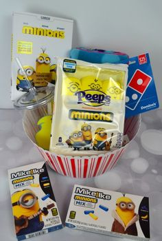 Minons are so much fun especially since they have their own movie. We have a great prize pack for you that includes Peeps, DVD and more!