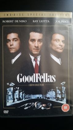 Goodfellas 2 disc special edition DVD (1999) Only £3.99 Free UK Delivery