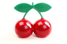 Mini Cherry Portable Speakers