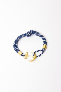 Absolutely LOVE this Anchor Knot Bracelet! #nautical #summer #bracelet