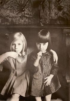 singlemom74676b:  Ida and Rhoda by Jeanloup Sieff
