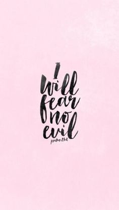 Lord, even when your path takes me through the valley of deepest darkness, fear…