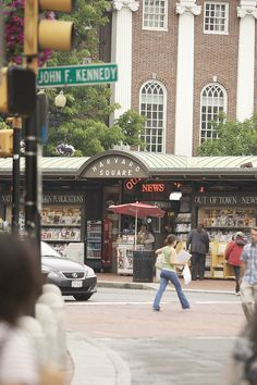 Take a stroll through Harvard Square during your stay at The Charles Hotel.