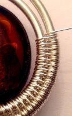Tutorial DIY Wire Jewelry Image Description Wire-Wrapped Bead Bracelet ~ Wire Jewelry Tutorials