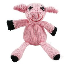 Fair Trade stuffed animals make great gifts for kids; or try a hand crocheted rattle for a baby gift. Puppet Making, Pet Pigs, Cute Stuffed Animals, Cool Baby Stuff, Kid Stuff, Candy Colors, Gifts For Kids, Hand Knitting, Kids Toys