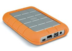 LaCie Rugged All-Terrain, Pocket Hard Drive with Fire Wire Fire Wire 400 and USB Interface, for Macintosh & Windows Disco Duro, Digital Media, Nintendo Consoles, Storage Solutions, Really Cool Stuff, Usb, Technology, Ebay, Windows