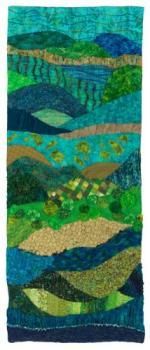 Product Description: SUMMERTIME •Roslyn B. DeBoer</br></br>The interaction of water and lush foliage in summer...