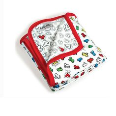 Keith Haring baby blanket