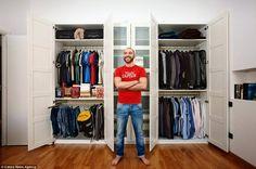 seu guarda roupa organizado armario-masculino