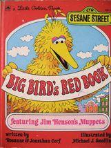 Little Golden Book Big Bird's Red Book