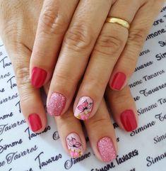 29 Ideias de unhas decoradas que pode fazer você mesma Nails, Diana, Beauty, Tops, Design, Fashion, Nail Polish Colors, Lady Nails, Nailed It