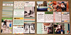 Klompen Stampers (Stampin' Up! Demonstrator Jackie Bolhuis): Project Life w/ Kim