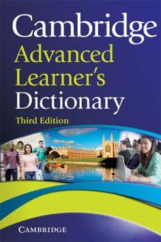 Cambridge advanced learner's dictionary 3rd ed